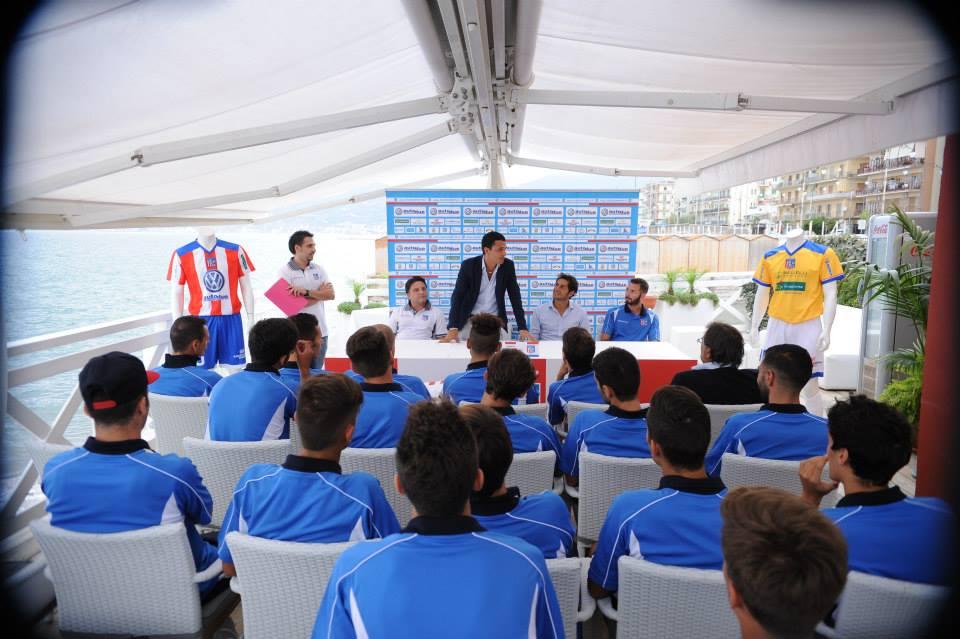 Conferenza stampa di presentazione Olympic Salerno 2013/2014