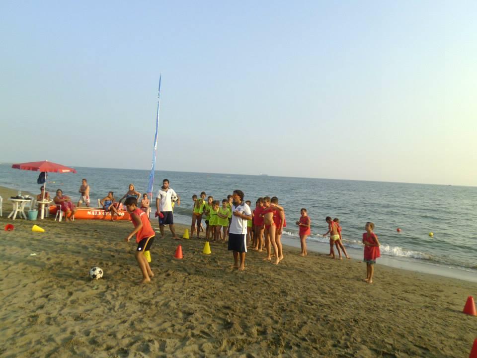 I Evento in spiaggia presso Bagni Miramare