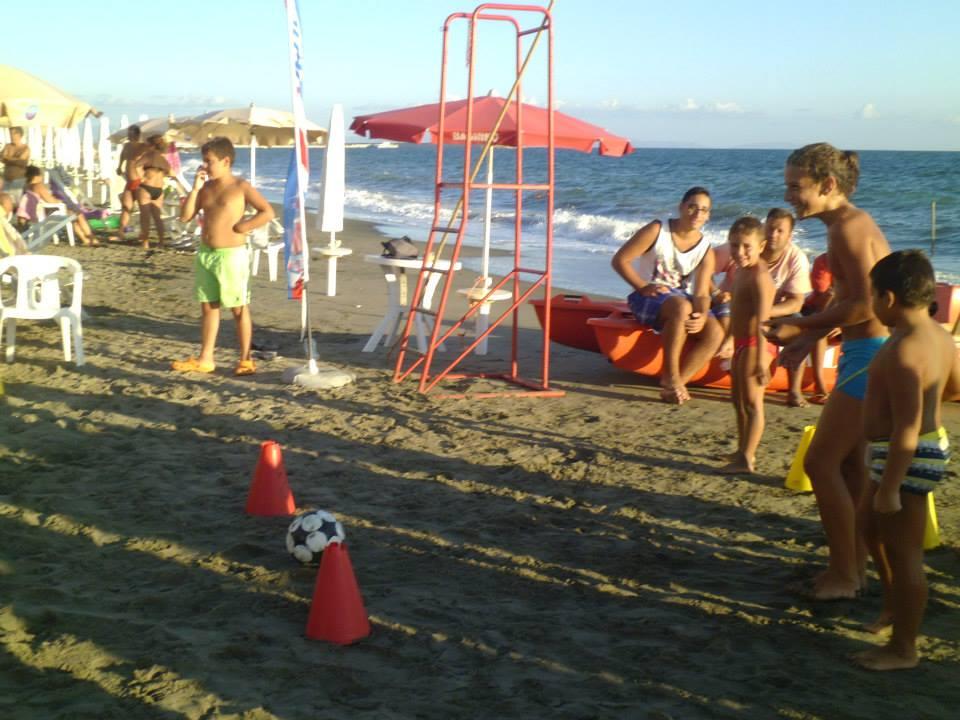 II Evento in spiaggia presso Bagni Miramare