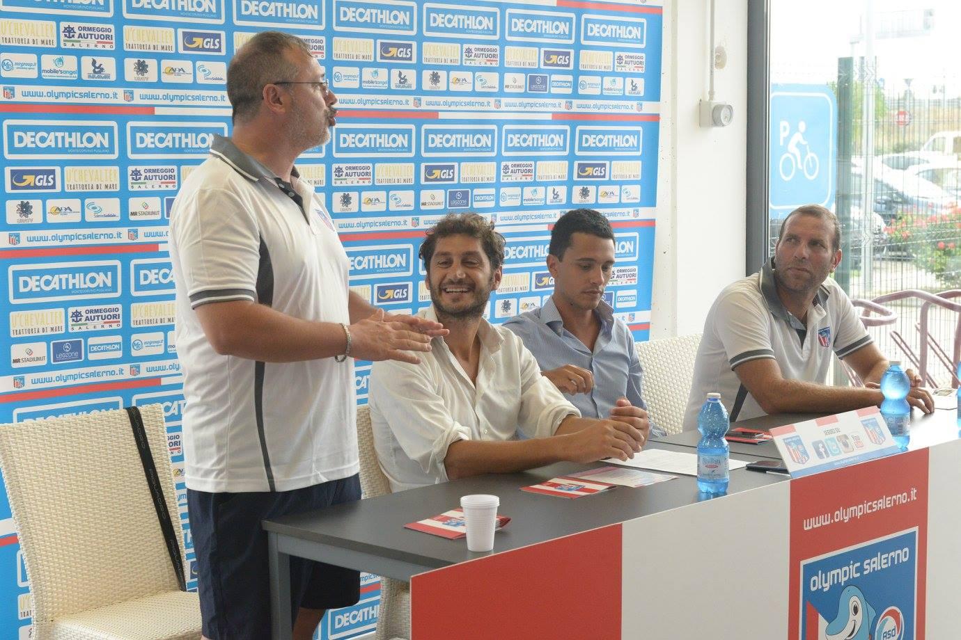 Presentazione ufficiale Olympic Salerno 2015/16