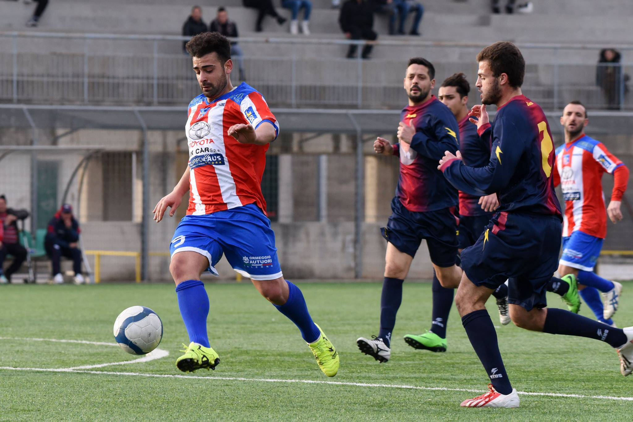 Olympic Salerno vs Real Pontecagnano 1-2