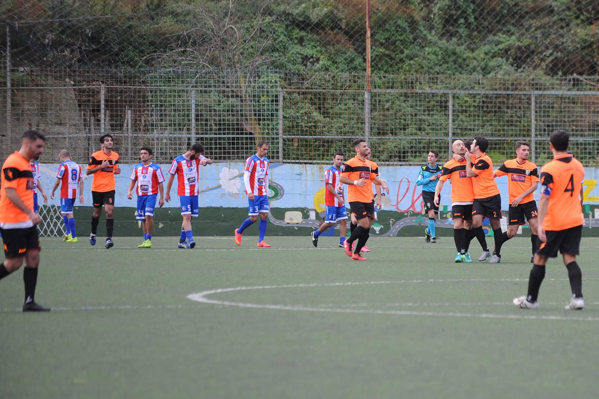 Olympic Salerno - Simone Fierro 2-2