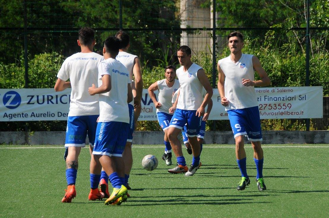Centro Storico Salerno - Olympic Salerno 3-2 Finale Play Off